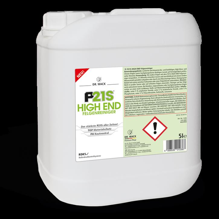 Dr.Wack P21S High End Felgenreiniger 5 Liter Kanister