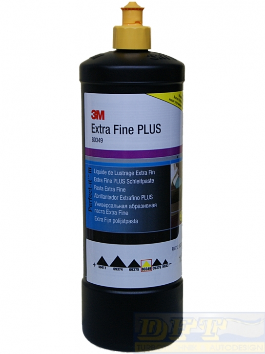 3M - Perfect-it III Extra Fine Schleifpaste PLUS 80349 1000ml,