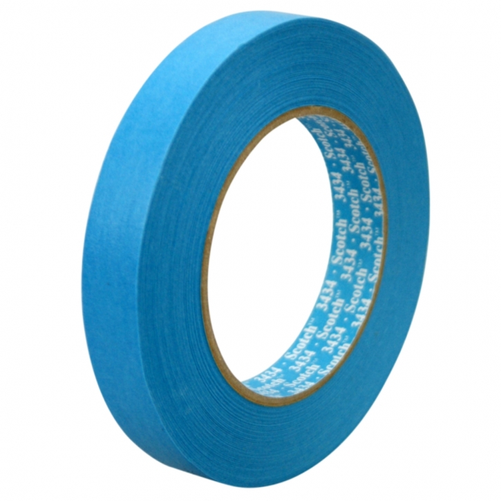 3M Scotch Tape blaues Abklebeband 25 mm