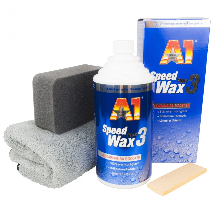 Dr.Wack a1 Speed Wax plus Set inkl. Applicator und Microfasertuch