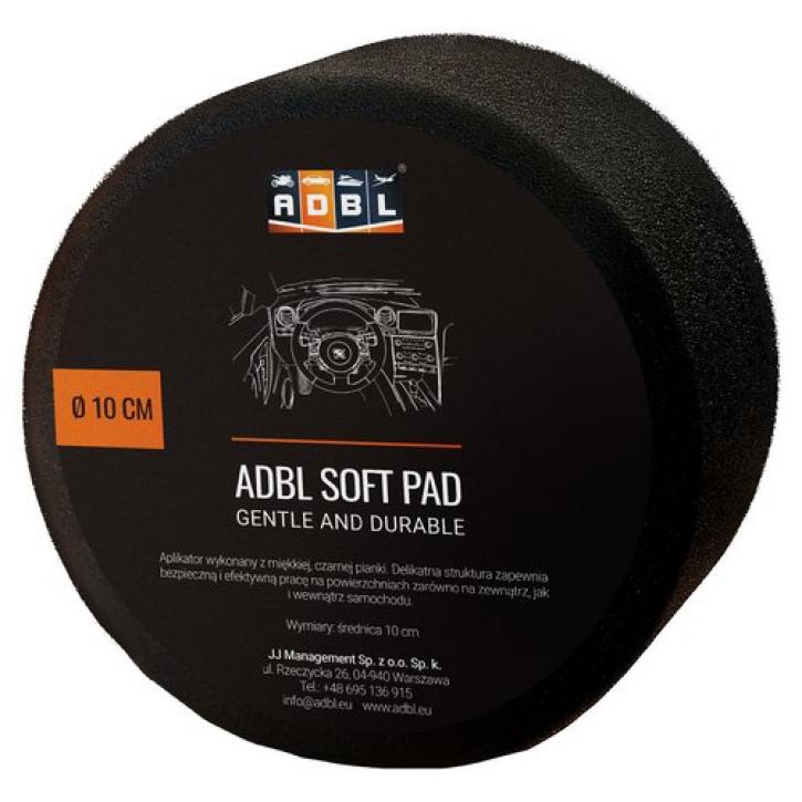 ADBL Soft Pad schwarz weich rund 10 cm