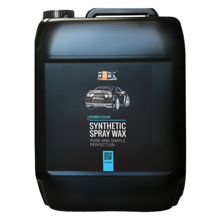 ADBL Synthetic Spray Wax Sprühwachs 5 Liter Kanister