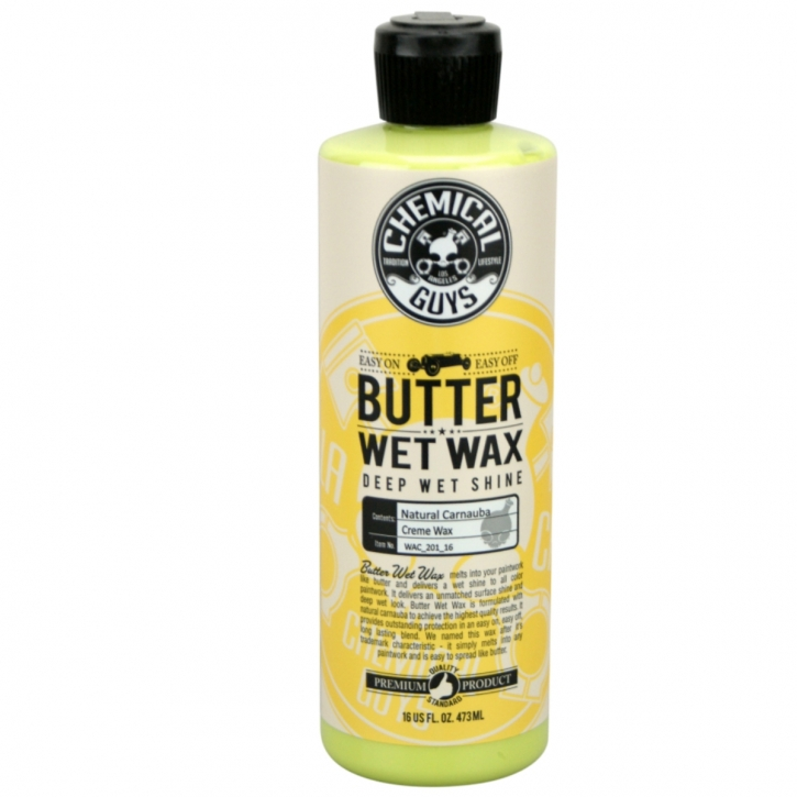 Chemical Guys Butter Wet Wax  - Carnauba Wax 473 ml,