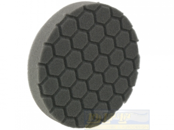 Chemical Hex Logic Polierpads/ Maschinenpads, 5,5 Zoll 140 mm black Finishing Pad /schwarz,