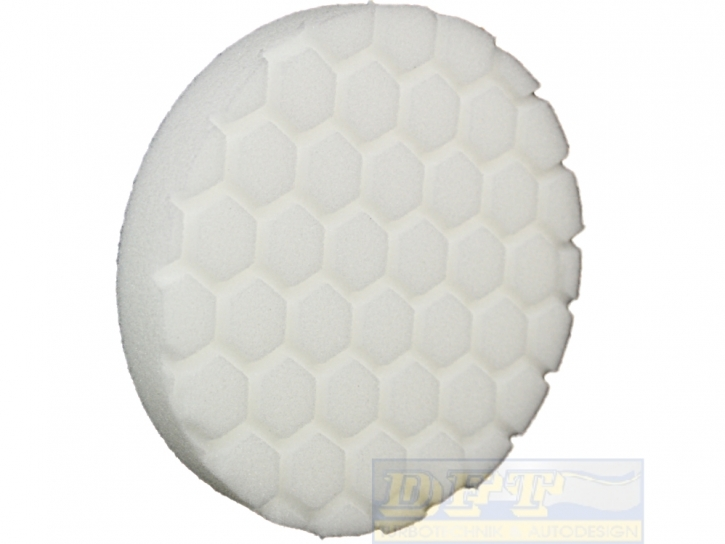 Chemical Hex Logic Polierpads/Maschinenpads, 5,5 Zoll 140 mm White Light-Medium Polishing Pad