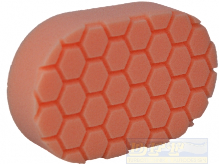 Chemical Guys Hex Logic Hand-Applicator Orange,