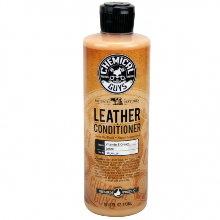 Chemical Guys Pure Leather Conditioner - Lederpflege 473ml