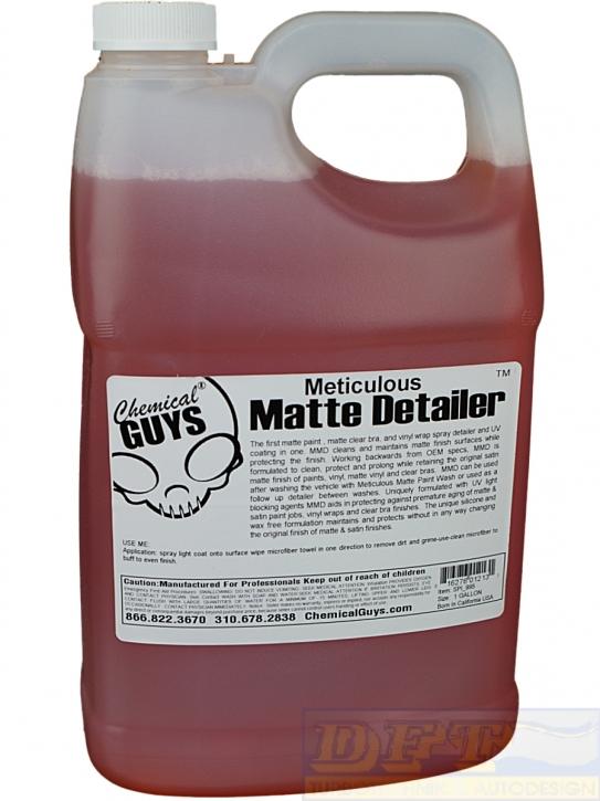 Chemical Guys Meticulous Matte Detailer-Mattlackpflege 3,785L Gallone,