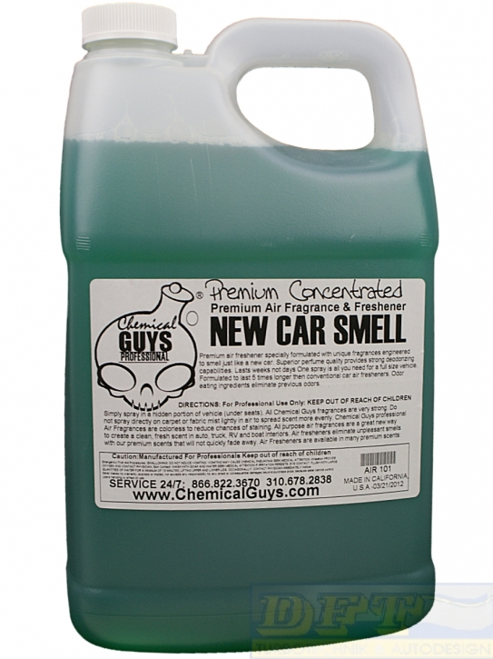 Chemical Guys New Car Scent, New Car Smell 3,785l Gallone