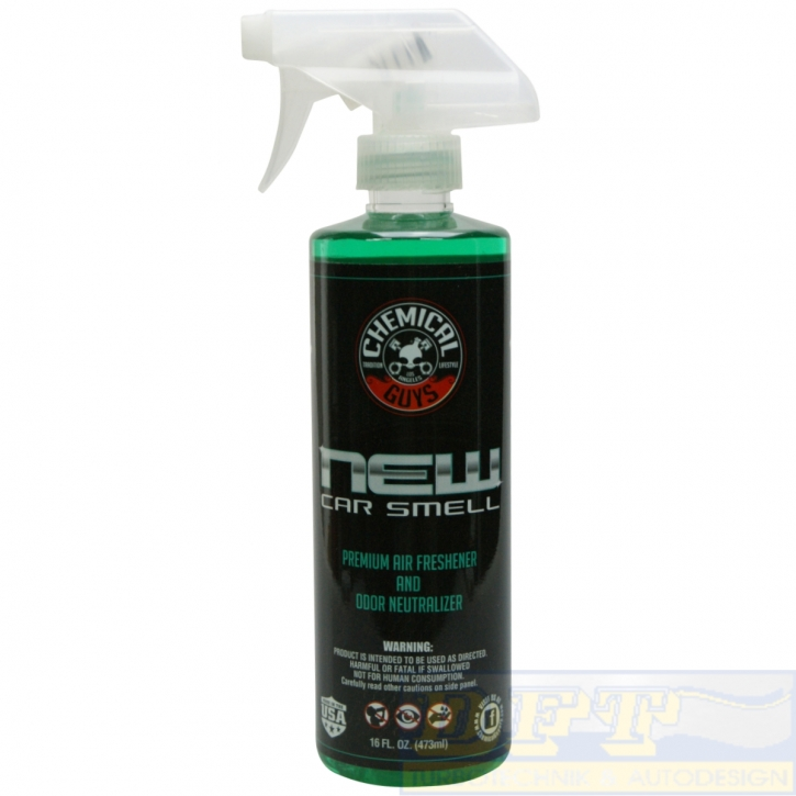 Chemical Guys New Car Scent, New Car Smell (Neuwagenduft) 473 ml,