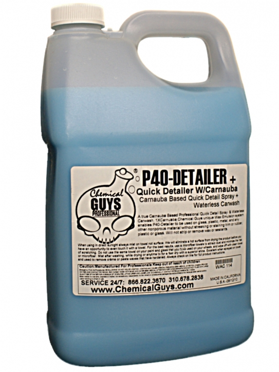 Chemical Guys P40 Detailer with Carnauba 3,785 l Gallone