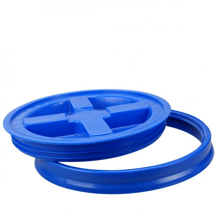 Gamma Seal Cover Lid Wasserdichter Verschluss für Grid Guart Eimer blau