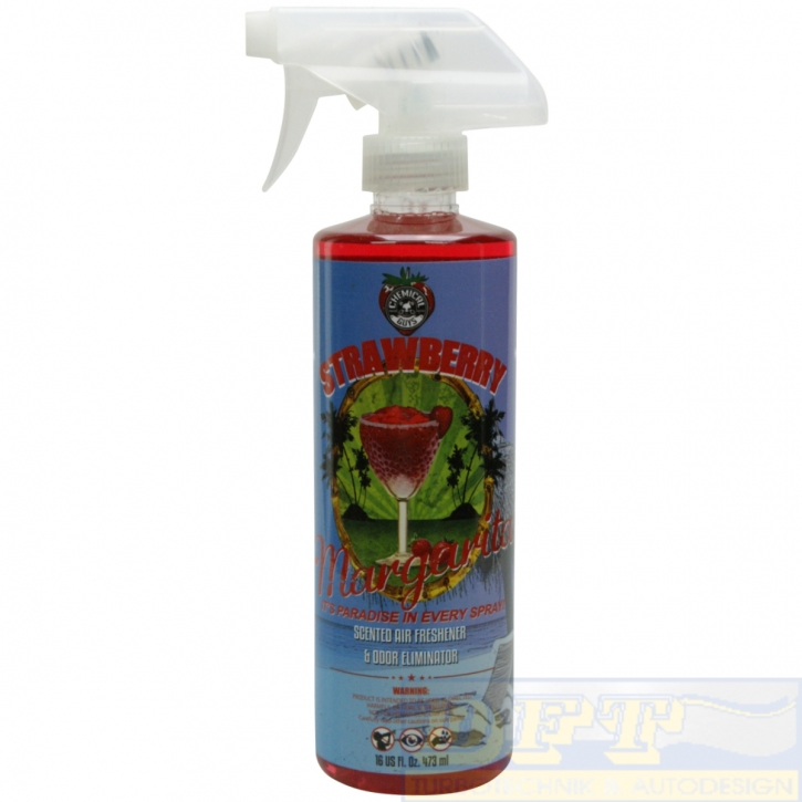 Chemical Guys Strawberry Margarita Air Freshener & Odor Eliminator Scent 473ml,