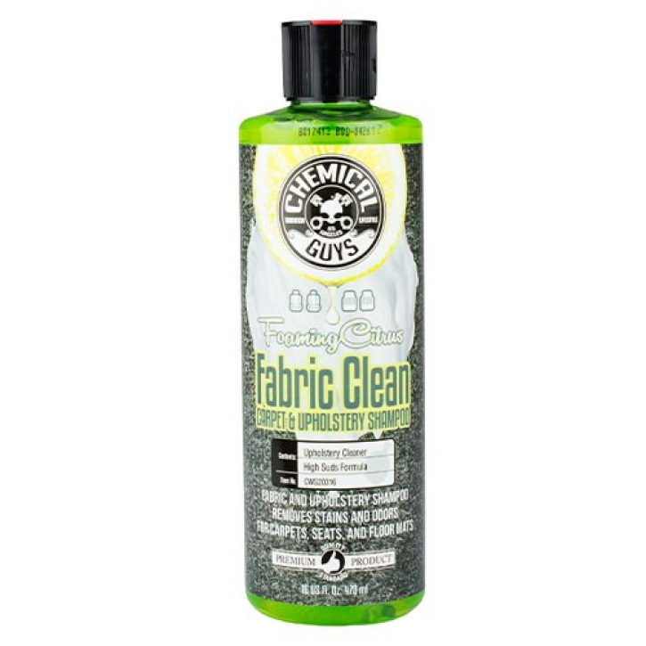 Chemical Guys Fabric Clean Teppich Und Polsterreiniger 473 Ml 870521