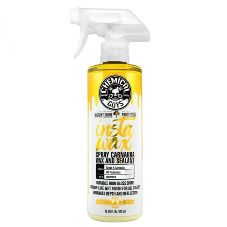 Chemical Guys Liquid Carnauba InstaWax+ High Gloss Wax & Sealant in einem 473 ml,