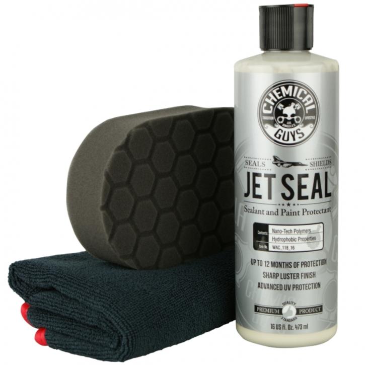 Chemical Guys Jet Seal Versiegelungsset mit Applicator & Tuch