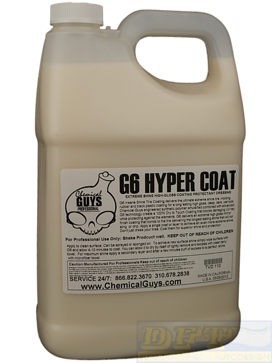 Chemical Guys G6 Hyper Coat  Reifen & Kunststoffdressing 473 ml,