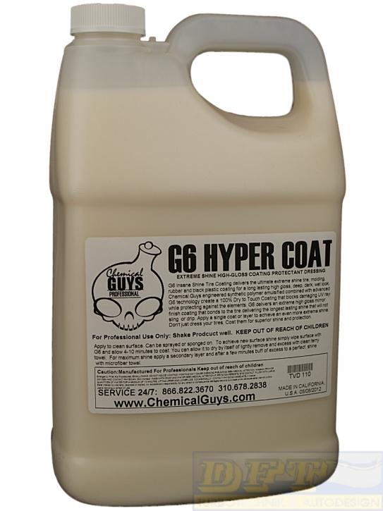 Chemical Guys G6 Hyper Coat  Reifen & Kunststoffdressing 473 ml,