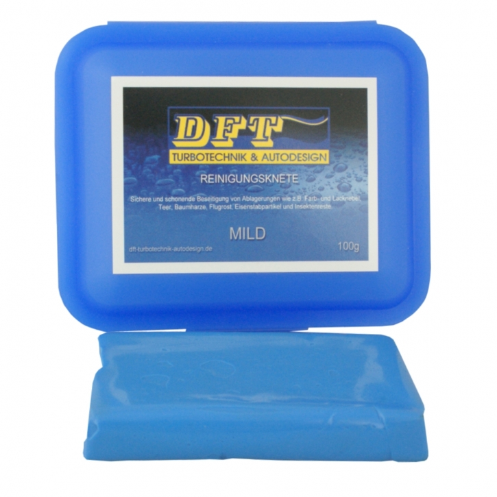 DFT-Reinigungsknete mild blau 100g