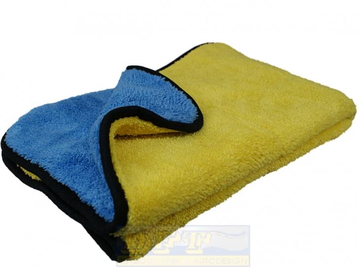 DFT  Big Microfasertuch supersoft gelb/blau 50 x 80 cm,