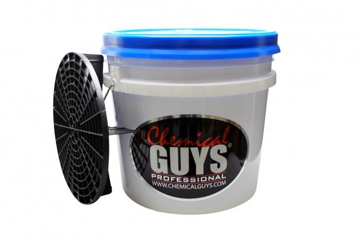 Chemical Guys Gritguard Wash Bucket System - Wascheimer 3,5 Gallonen,