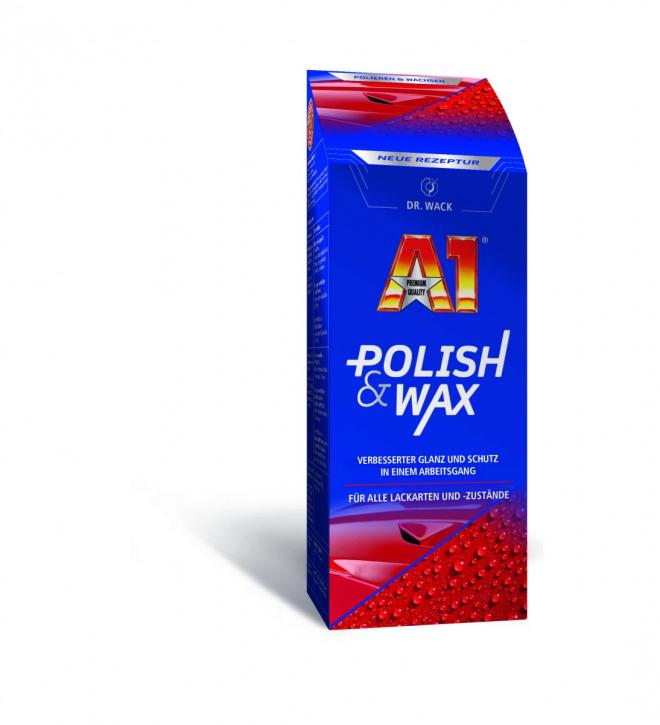 Dr.Wack A1 Polish & Wax Politur und Wachs 500 ml