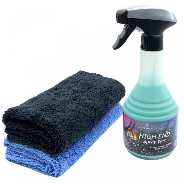 Dr.Wack High End Spraywax,Sprühwachs 500 ml inkl. 2 Tüchern