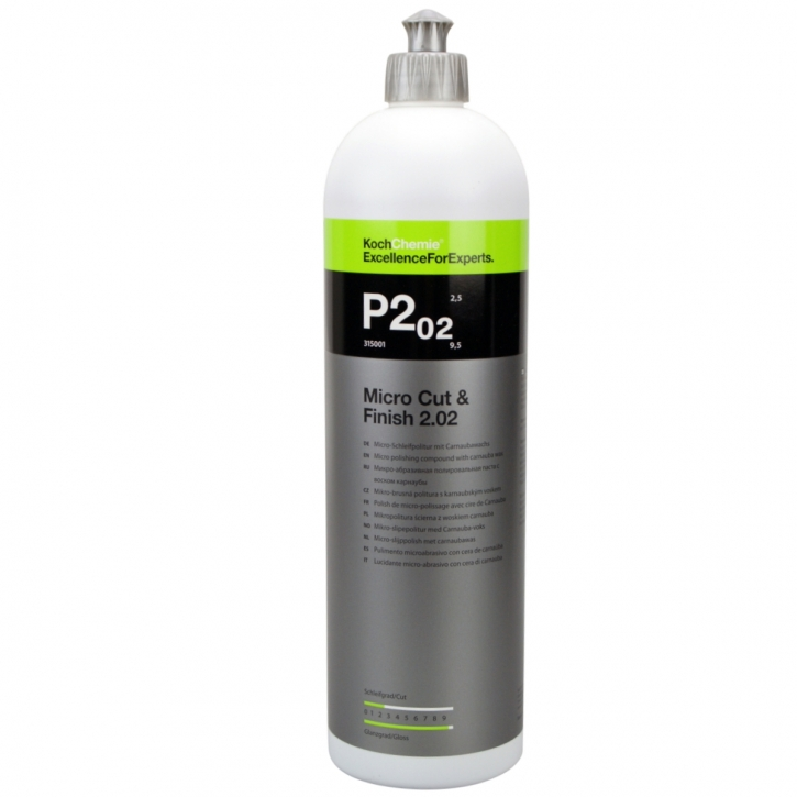 Koch Chemie Micro Cut & Finish polish mit Carnaubawachs 1 Liter