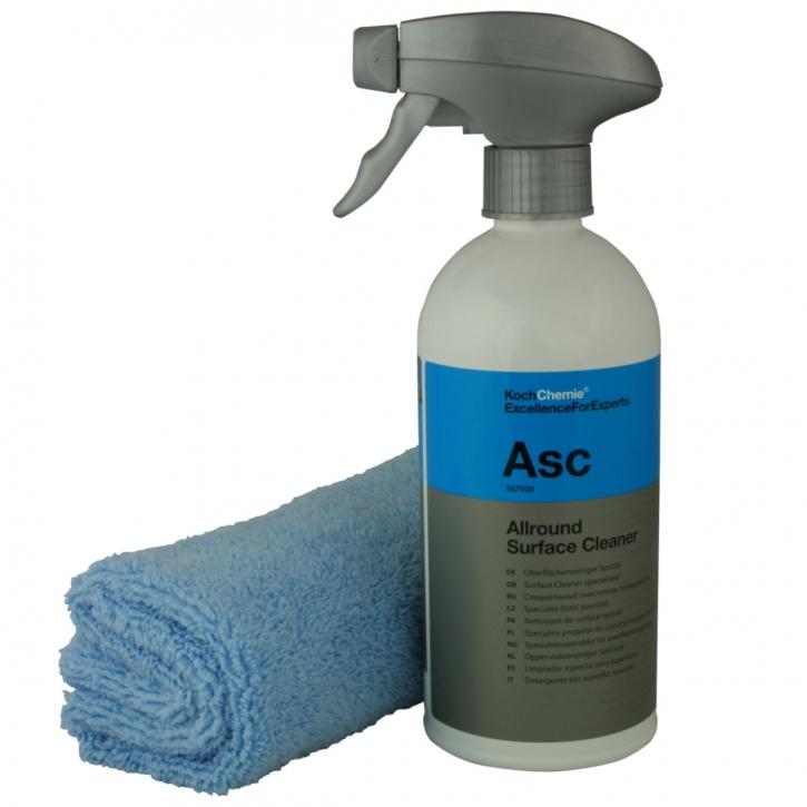 Koch Chemie Asc Allround Surface Cleaner 500 ml inkl. Microfasertuch