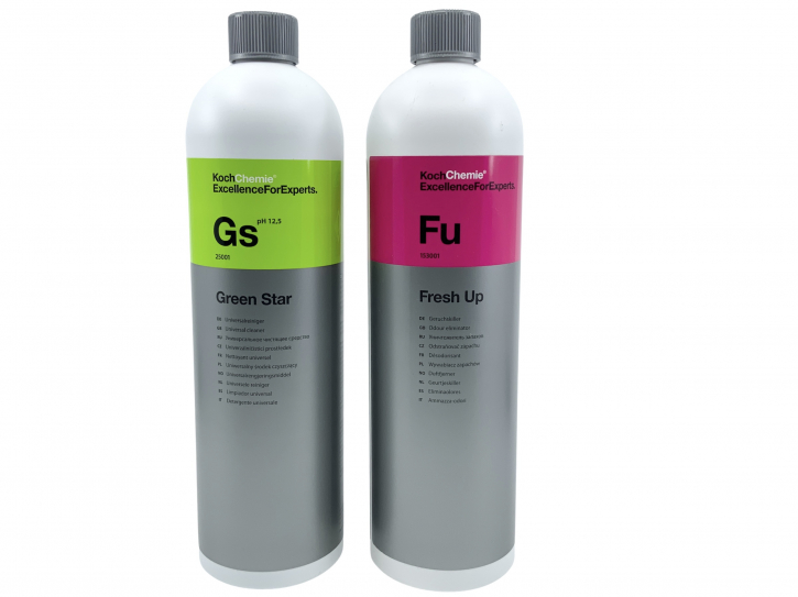 Koch Chemie Green Star Universalreiniger + Fresh Up Geruchsvernicher jeweils 1L