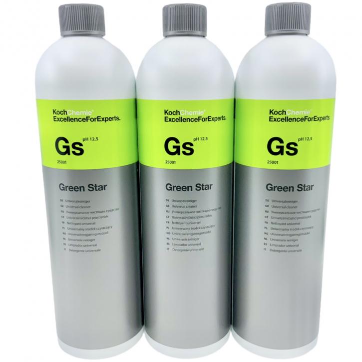 Koch Chemie Green Star Universalreiniger 3 x 1 Liter