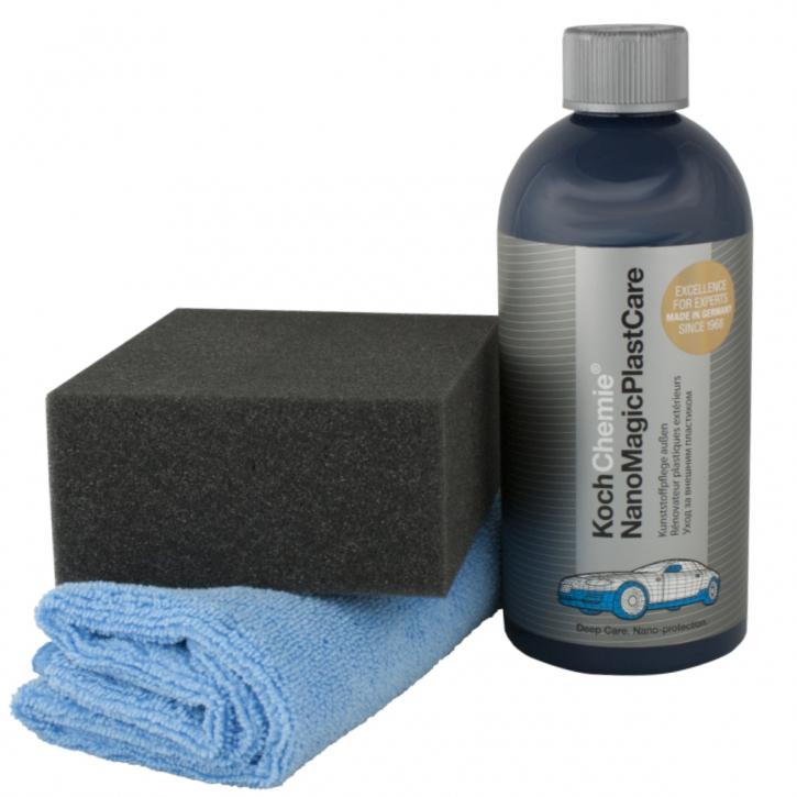 Koch Chemie Nano Magic Plast Care Kunststoffpflege mit Tuch & Applicator500ml,