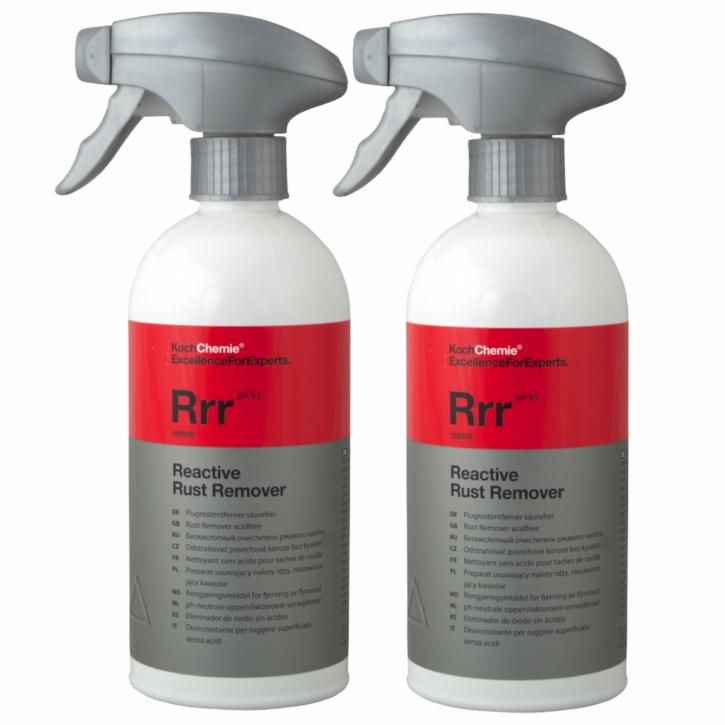 Koch Chemie Reactive Rust Remover Flugrostentferner/ Felgenreiniger 2x500 ml