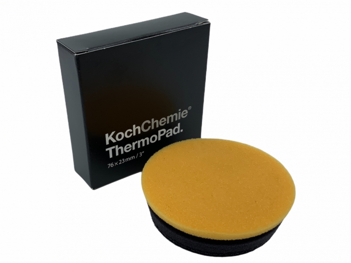 Koch Chemie Thermo Pad Polierschwamm mit Know How 76mm