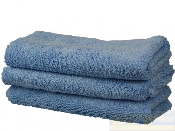 3x Liquid Elements Blue Breeze 2.0 Microfasertuch 40 x 40 xm