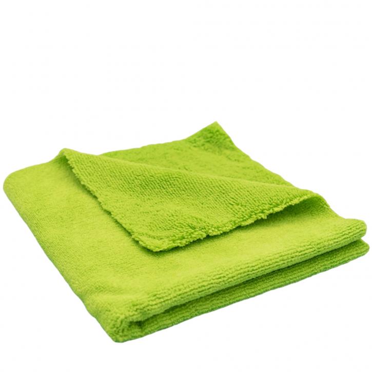 Liquid Elements Bilateral Microfasertuch grün 40 x 40 cm