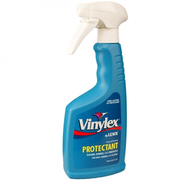Lexol  Vinylex Protectant für Kunststoff-,  Plastik und Gummioberflächen 500 ml Sprühflasche