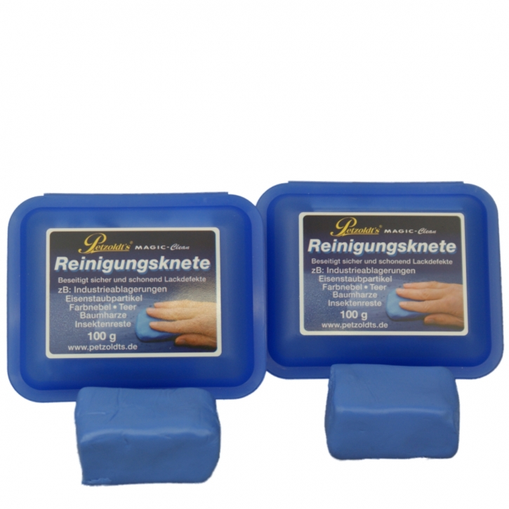 Petzoldt`s Magic Clean Reinigungsknete 2x 100 g Doppelpack