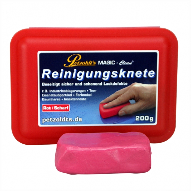 Petzoldt`s Magic Clean Reinigungsknete rot scharf 200 g