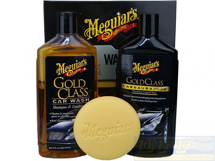 Meguiar´s Gold Class Wash Wax Car Care Kit,