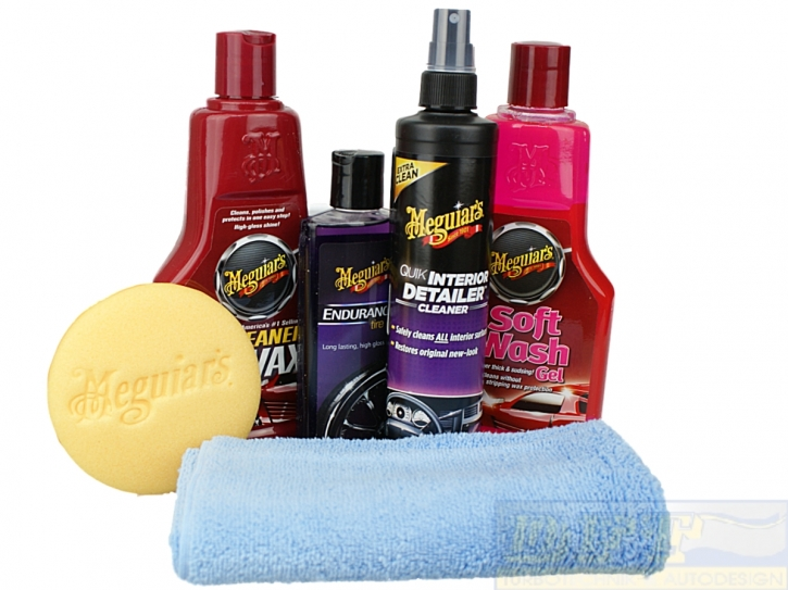 Meguiar´s Classic Gift Kit, Christmas Kit, ideales Weinachtsgeschenk,