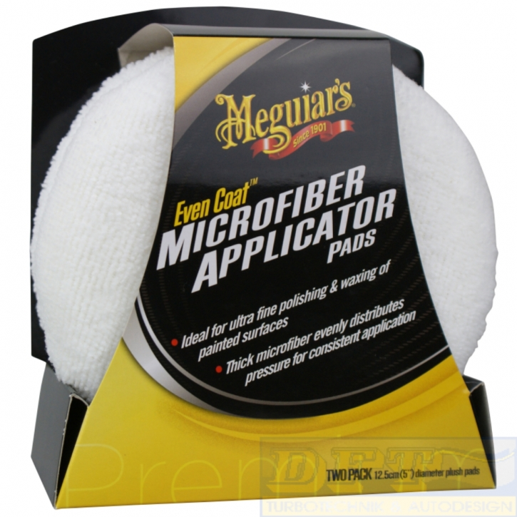 Meguiar`s Even Coat  Microfiber Applicator Pads 2er pack