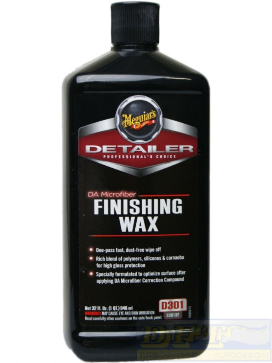 Meguiar`s Finishing Wax Maschinen-Hochglanzpolitur 946 ml,