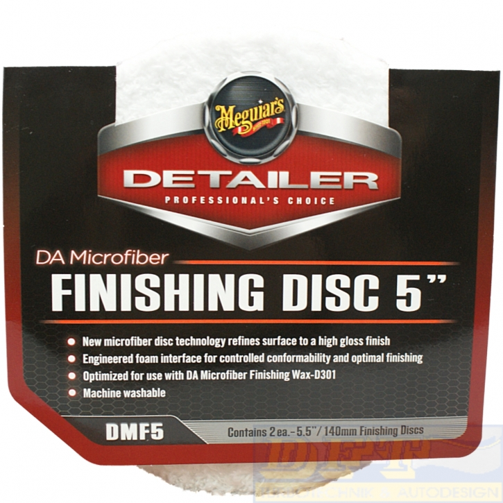 Meguiars Finishing Disc 2 stk. 5,5 Zoll 140 mm DMF5 Polierpads,
