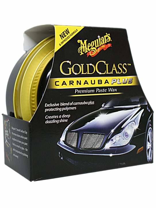 Meguiar`s Gold Class Carnauba plus Premium Paste Wax 311g