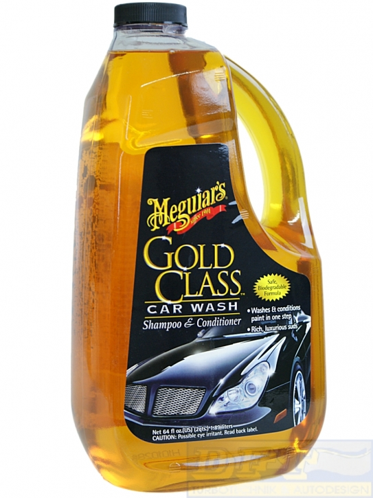 Gold Class Car Wash Shampoo & Conditioner 1,89