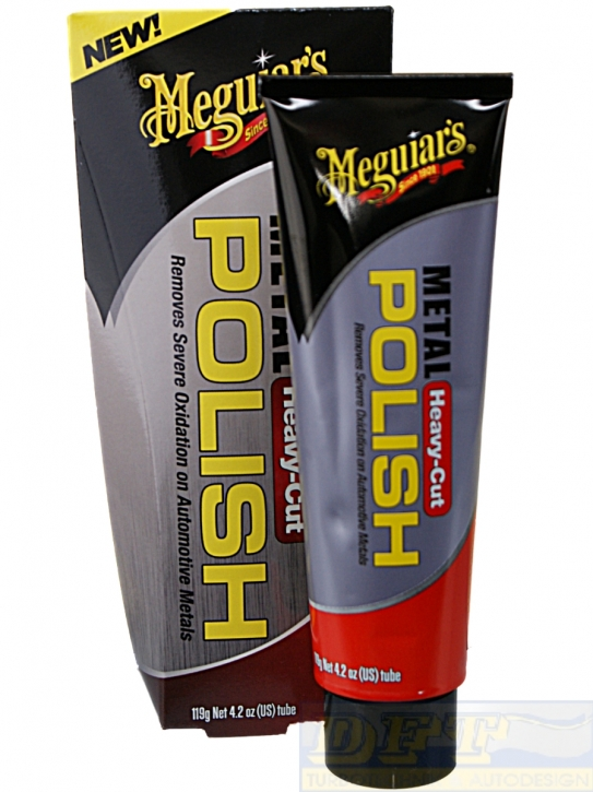 Meguiar`s Metal Polish Heavy Cut Metallpolitur 119g,