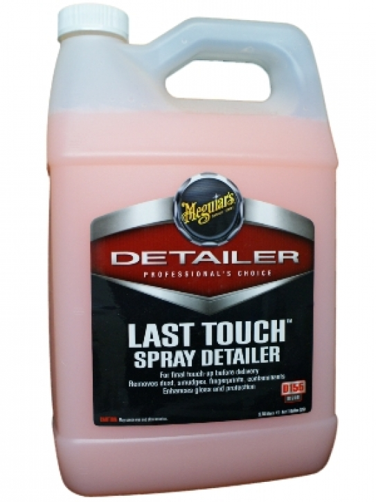 Meguiar`s Last Touch Spray Detailer 3,785  l Gallone