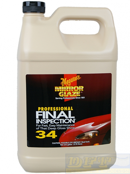 Meguiar's Final Inspection Nr. 34 - Trockenwäsche 3,785l- Gallone,