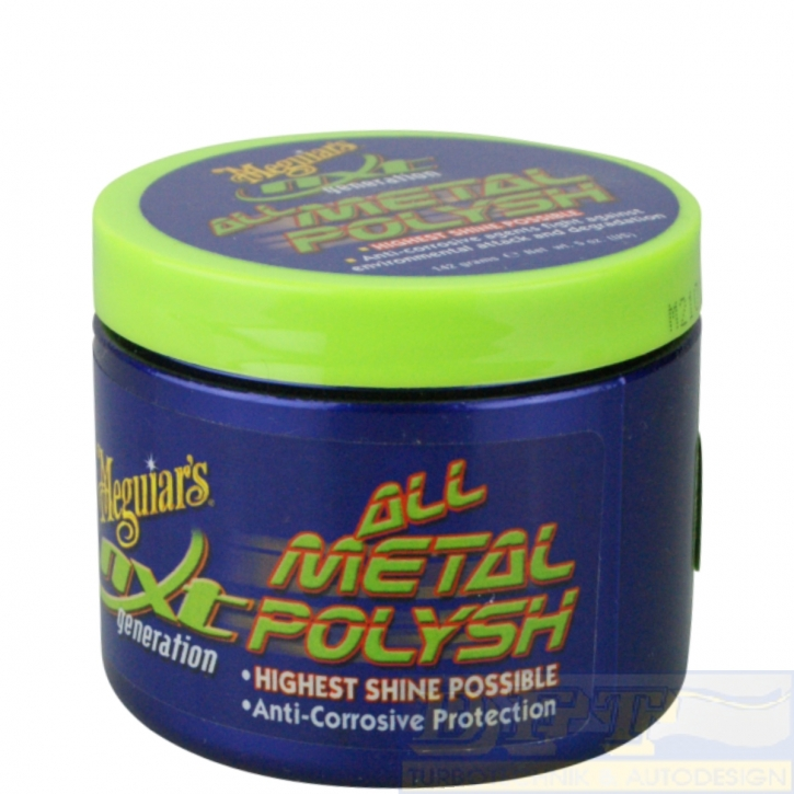 Meguiar`s All Metal Polysh Metallpolitur 142 ml,